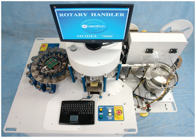 Test Rotary Handler- Bowl Feed Test Inspection Sort