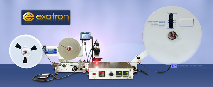 Exatron Manual Tape and Reel Taper with Vision Q Corp alternative QMT Dual Track V-Tek Replacement Help service contact