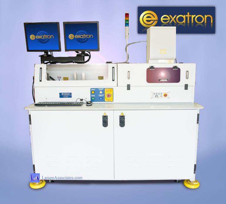 Exatron Laser Marker Destop Laser Marking Keyence Lasers