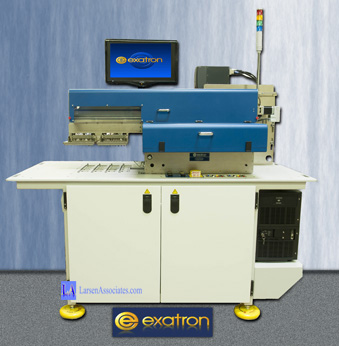 Test Handler - Electrical test dual inspection Laser marker