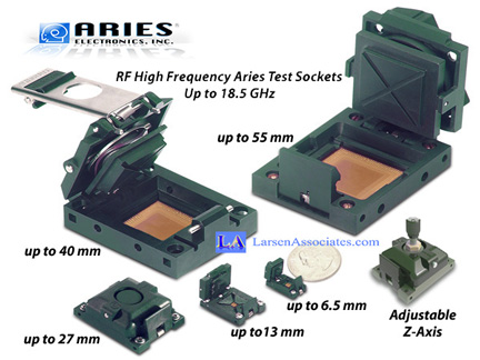 RF IC Test sockets high frequency test and burn-in sockets
