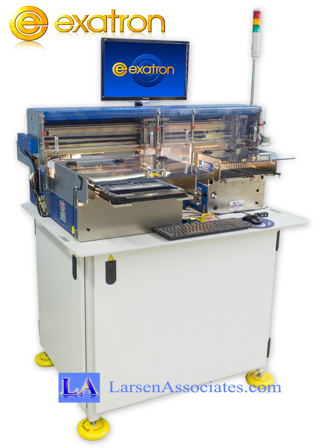 Exatron Burn-in board-loader unloader Handler IC Transfer machine